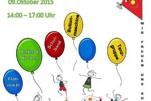 Einladung zum Schulfest