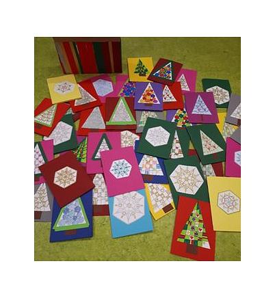 Weihnachtskarten©Astrid-Lindgren-Schule